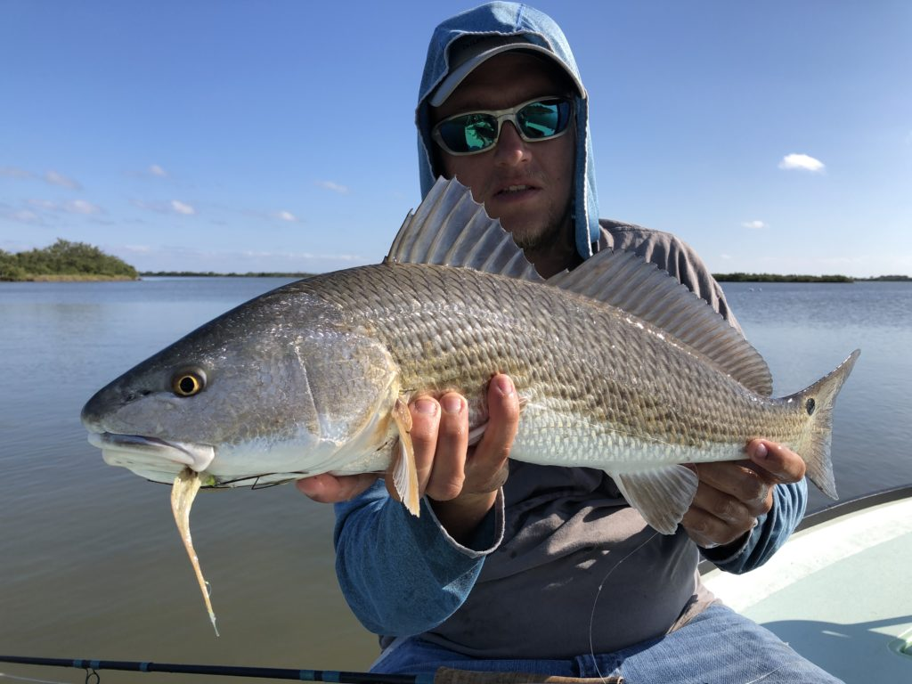 space coast fly fishing guide redfish mosquito lagoon